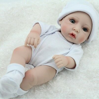 Full Silicone Reborn Baby Girl Washable Handmade Lifelike Dolls realistic