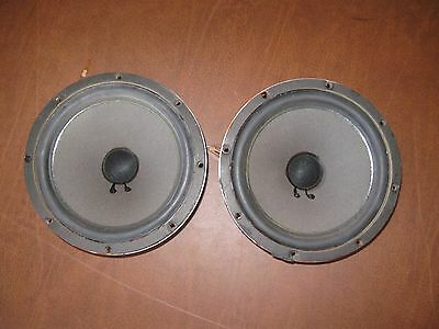 Vintage Wharfedale Bic-8950 8 Inch Speakers W25  W35