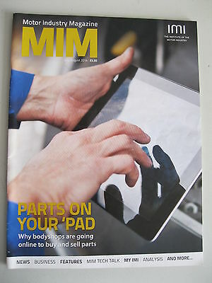 IMI Magazine - July August 2014 - Motor Industry Magazine