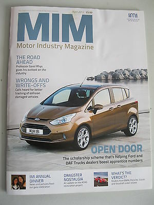 IMI Magazine - April 2012 - Motor Industry Magazine