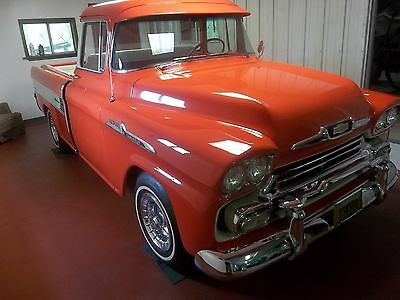 1958 Chevrolet Other Pickups cameo 1958 chevrolet 3100