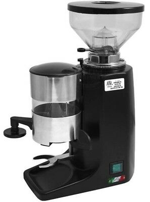 Quamar M80 Commercial Espresso Grinder - Black - **NEW** Authorized Seller