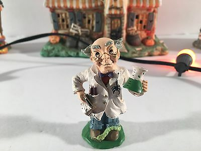 "New Rare Midwest Of Cannon Falls Creepy Hollow ""mad Scientist"" Village Piece"