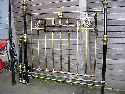 Antique Brass Bed......reproduction