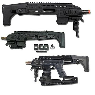 Kit Di Coversione Per Softair Glock 17,18C Aps Nero
