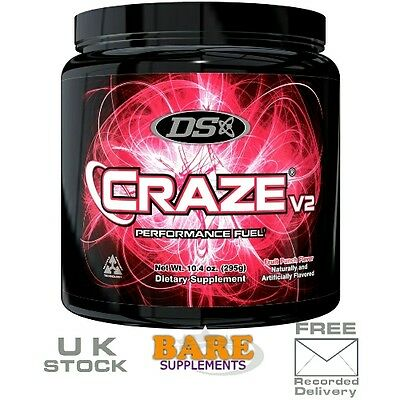 Driven Sports DS V2 Pre-Workout 40 Servings Fruit Punch & Cherry Berry