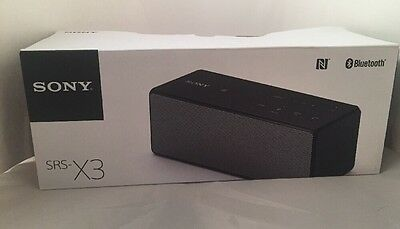 Sony SRS-X3 (P25245930C) Bluetooth Personal Audio System NEW OTHER