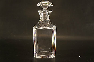 Vintage Baccarat French Crystal Carafe Pattern Harcourt, Decanter Whisky