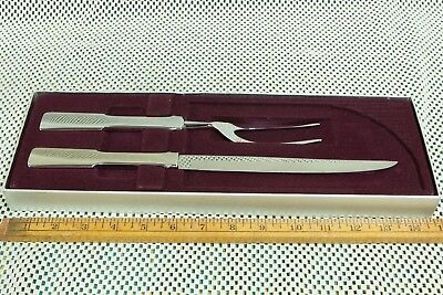 VTG Levy's Stainless MEAT FORK & KNIFE Carving Set USA (#342)