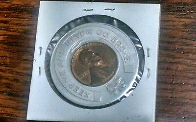 Dallas, Texas Coin Exchange Penny, Keep me and Never Go Broke