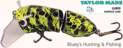 Taylor Made Cod-Walloper surface fishing CF frog articulated Lure