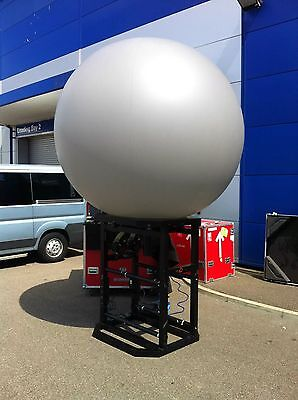 PufferFish Projection Sphere with matching Barco FLM R22+ Projector