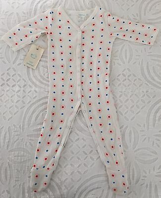 Country Road Baby Girls Flower Spot Jumpsuit 3-6 Months- EUC
