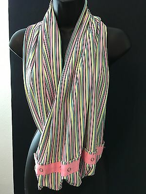 Ivivva By Lululemon Scarf Striped One Size Multicolor