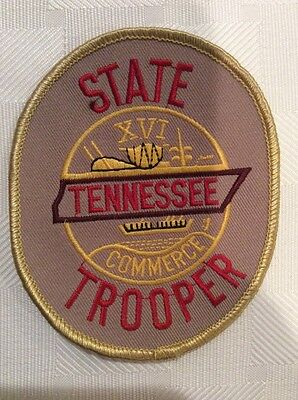 Tennessee State Trooper Shoulder Patch -- UNUSED