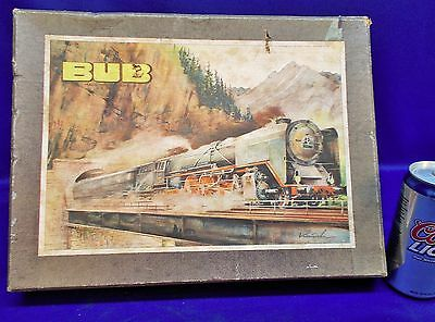 "PM10 - KARL BUB European Style ""S"" Gauge Clockwork Toy Train Set, Very Nice"