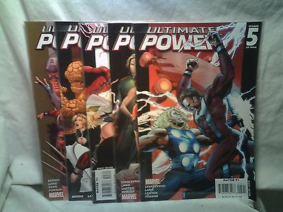 Ultimate Power Marvel Comics issues 1 2 3 4 5
