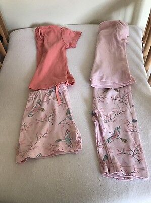 Pure baby Baby Girls Pijamas, 2 X Sets In Size 1
