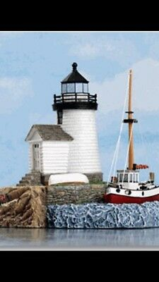Harbour Lights Lighthouse   Mystic Seaport, Connecticut   Very Rare Find