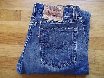 Vintage LEVIS 560 Women's Jeans 12 MIS L High-Waisted Loose Fit Straight Leg 90s