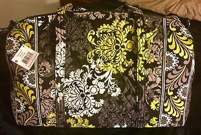 Vera Bradley Large Duffel Bag Baroque Brand New With Tags! Carry On Or Beach Bag