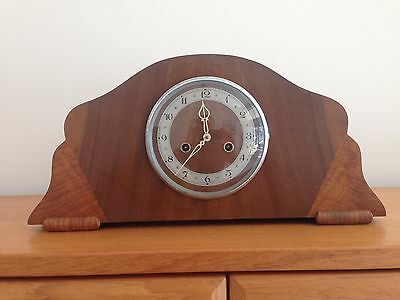 Antique Enfield Mantle Clock Working Condition