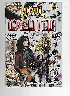Rock n' Roll Comics #13 Led Zeppelin (1990) VF/NM First Print nice book