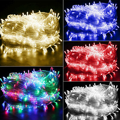 200/300/500 LED Fairy Lights Indoor Outdoor String Lighting Xmas Christmas Party