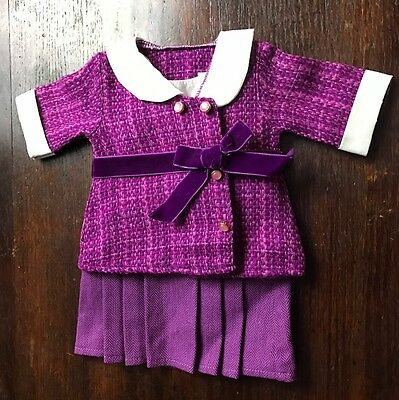 AG American Girl Rebeca Purple Formal Dress Outfit foe doll two 2 piece