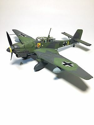 2008 Unimax FORCES OF VALOR German Ju87B-2 STUKA France 1940 1:72 Diecast Metal