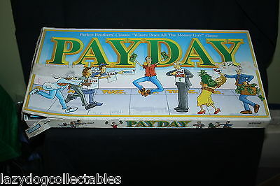 PAYDAY Classic 1970's BOard Game
