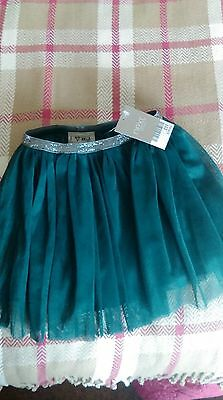 Next Bottle Green Skirt 6-9 Months Brand New With Tags