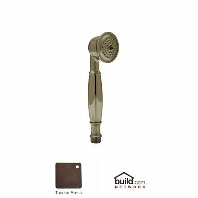Rohl 1105/8TCB 1105/8 Palladian Single Function Hand Shower Tuscan Brass, New