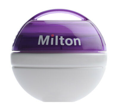 Milton Mini Portable Baby Soother Dummy Steriliser + 10 Free Tablets-Purple