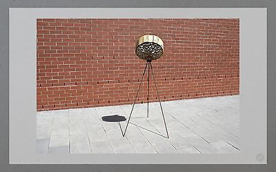 Upcycling Lampe Design Art Deco Wohndesign Industrie Handmade Unikat