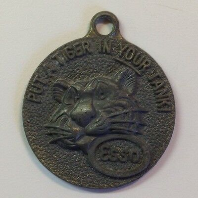 Vintage Esso Key Fob- Put A Tiger In Your Tank