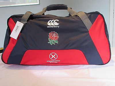 Canterbury England Rugby 7S Mens Large Holdall Sports Bag Rrp £40