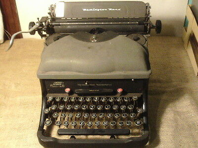 Antique typewriter Remington Rand Noiseless
