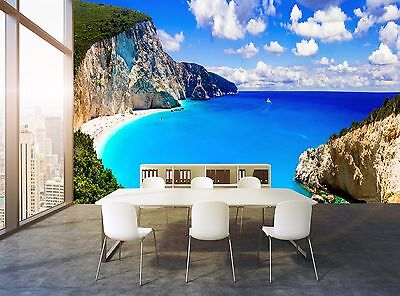 Beaches of Greece  Wall Mural Photo Wallpaper GIANT WALL DECOR Paper Poster