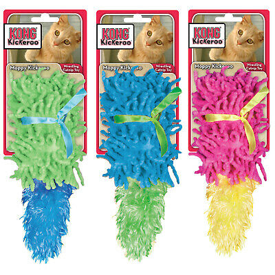 Cute Kong Moppy Kickeroo Cat Toy - Suitable for Cas and Kittens