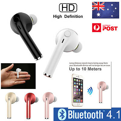 Bluetooth 4.1 Wireless Headset Earbud Headphone Earphone for iPhone Samsung