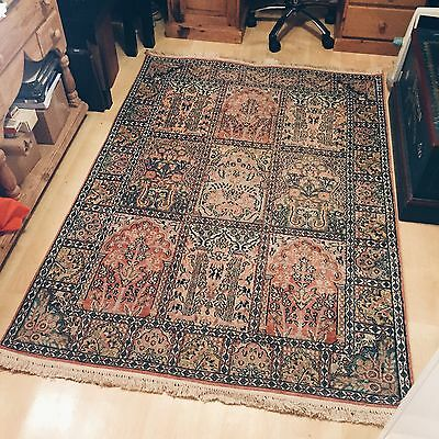 Hand Knotted Silk Persian Rug