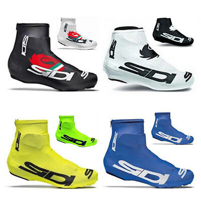 Lycra Bicycle Breathable Shoe Covers Bike Cycling Zippered Overshoes Windproof