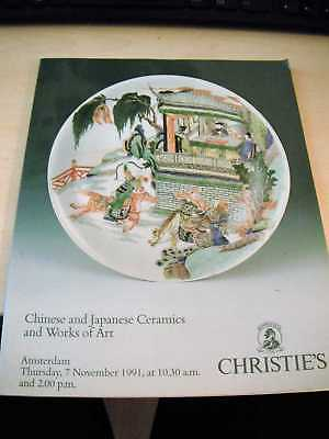 Christie's: Chinese and Japanese Ceramics and Works of Art, November 1991 PB
