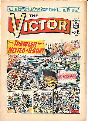 The Victor 42 (Dec 9, 1961) very high grade copy