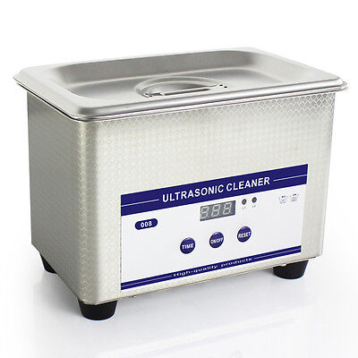 Stainless Steel Digital Dental Ultrasonic Parts Cleaner Sonic Cleaning Equipment