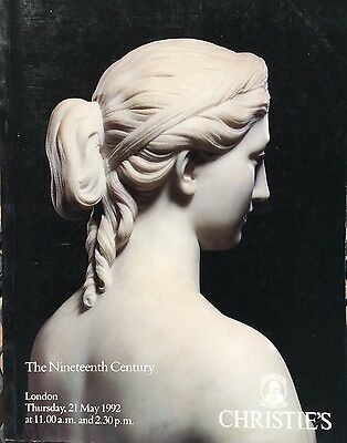 CHRISTIES Auction Catalog 5/21/1992 The Nineteenth Century - London