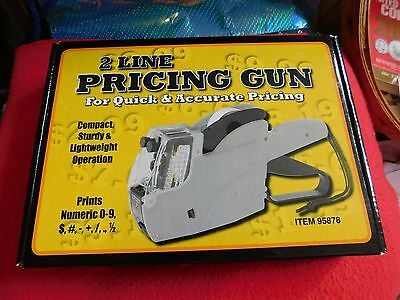 2 LINE PRICING GUN by HARBOR FREIGHT TOOLS (Item 95878)