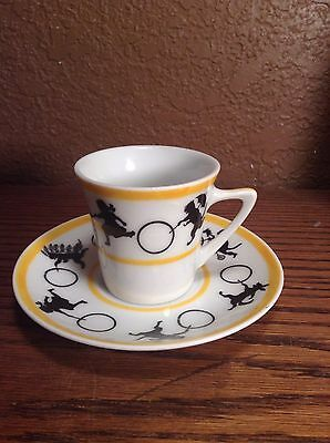 Rare Flossie Fisher's Funnies Cup & Saucer
