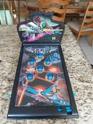 Vintage Space Battle 2100 Tabletop Pinball Machine